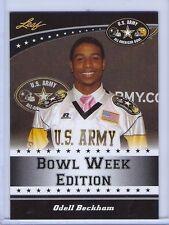 Odell Beckham Jr. 2011 Leaf U.s. Army High School All-american Rookie Card