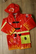 Kidorable boys fire fighter raincoat size 4 VGUC