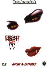 Fright Night 2 , 100% uncut & restored , DVD , new , Frightnight II , Vampire