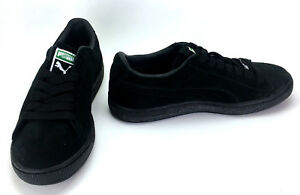 Puma Shoes Suede Archive Eco Black Sneakers Size 8.5