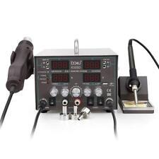 Baku 8305D 3 en 1 Estación de Soldadura Digital con pistola de calor y fuente de alimentación 110V