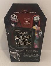 Disney Tim Burton's Nightmare Before Chritmas Trivial Pursuit Game COMPLETE
