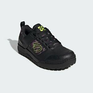 FIVE TEN IMPACT PRO MOUNTAIN BIKE SHOES Adidas Black/Camo/Yellow Size 7.5