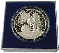 Niue 1 Oz Silver Moon Landing First Man on the Moon 2019 Polished Plate BOX COA