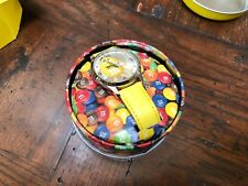 Yellow M&M Collectible Watch - New with Tin