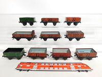 CS332-1# 10x Trix Express H0/DC/3L Wagen, Mängel/Bastler: 2061 + 2071 + 2066 etc