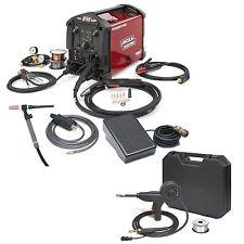 Lincoln Power Mig 210 Mp Welder With Tig Kit Amp Spoolgun K4195 2 K3269 1