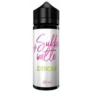 #Sukkawatte - Longfill Aroma Zitrone 20ml