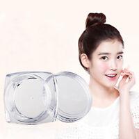 10pcs 5g Leere Glas Lidschatten Makeup-Gesichtscreme Lippenbalsam Container A/