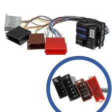 Radio de coche RNS-E Cable de navegación Mini ISO Quadlock Plug para Audi A3 A4 A6