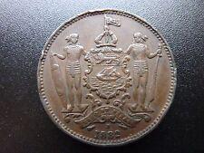 1882 British North Borneo 1 Cent Coin