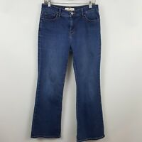 Levi's 512 Perfectly Slimming Boot Cut Women's Blue Jeans Size 6S - 30 x 29