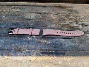 Galaxy Watch 3/Galaxy Watch 20mm Official Genuine Leather Strap Bronze
