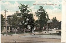 East North Street in Hagerstown MD Postcard 1908