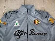 NEU Alfa Romeo Fan-Jacke silbergrau veste jacket jas giacca jakka