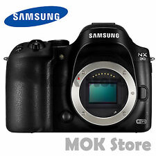 Samsung NX30 Smart Wi-Fi video digital Camera (Body only) NTSC/PAL + SD Card