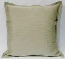 """Archipelago Designs Pair of European Pillow Shams in Platinum Musha 26"""" Square"""