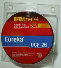 New In Package Filtrete Eureka 3M DCF-26 Vacuum Filter For Airspeed One Zuum