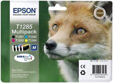 EPSON t1285, OVP, Multipack, 4 cartucce, fattura IVA M., 10/2018