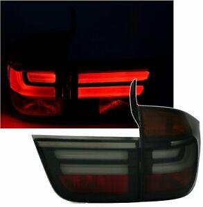 Baklykter for BMW X5 E70 2007-2010 Smoke LED tuning Gratis frakt LDBME3WN XINO U