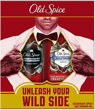Old Spice Wolfthorn Deodorant Spray and Shower Gel Gift Set