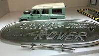 Land Rover Serie 2 2a 3 Aluminiumguss Gitter / Dose Emblem Solihull 332670