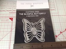 Paper Boutique butterfly die set - 2 dies - new & sealed