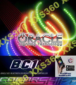 ORACLE Headlight HALO KIT BENTLEY Continental GT 04-09 COLORSHIFT Bluetooth BC1