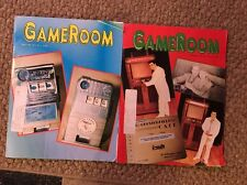 Gameroom Magazines: 1995, 2 Issues All Complete Great Shape