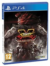 Street Fighter 5 V Arcade Edition PS4 Playstation 4 IT IMPORT CAPCOM