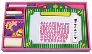 Melissa & Doug Flower Dry-Erase Board, Pink, 4+