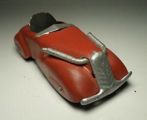 MARX WYANDOTTE PRESSED STEEL STREAMLINE ZEPHYR RED ROADSTER SEDAN CAR