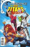 Convergence The New Teen Titans Comic Issue 1 Modern Age First Print 2015 Scott