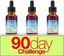 Keto Diet Shred Best Ketosis Drops Weight Loss Supplement Fat Burn& Carb Blocker