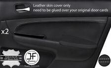Grey stitch 2X porte avant Carte TRIM couverture en cuir pour Honda Accord MK7 03-07