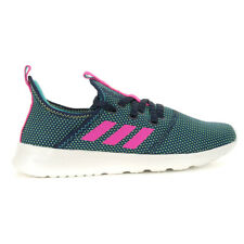 Adidas Women's Cloudfoam Pure Legend Ink/Shock Pink Shoes EF9395 NEW