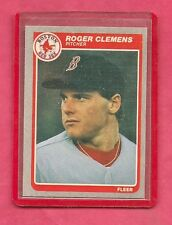 1 - 1985 Fleer # 155 Roger Clemens Boston Red Sox Near Mint Rookie Card Astros