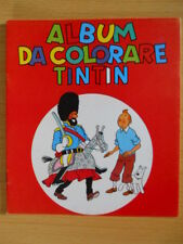 ALBUM da colorare TINTIN Casterman ed. Gandus anni 70   [G.103]