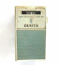 Vintage ZENITH Eight Transistor Radio ROYAL 10 WORKING Great Condition