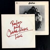 2 Rufus & Chaka Khan Vinyl - Live & Rufus (VG+) - Funk Soul Song Records Music