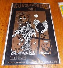 VTG 1994 Cursed Worlds Source Book Bible Blue Comet Press Underground Comic