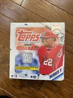 2021 Topps Series 1 Baseball Mega Box 16 packs 256 Cards New Sealed Walmart Blue