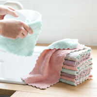 1pc Super Absorbent TBrofiber kitchen dish Cloth Household Cleaning Towel IJ