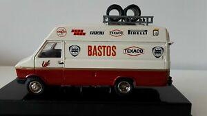 RARE 1/43 OLD CARS BASTOS IVECO SERVICE VAN ASSISTANCE