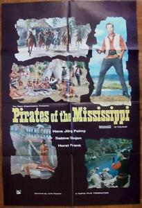 Die Flußpiraten vom Mississippi PIRATES OF THE MISSISSIPPI ORIGINAL WESTERN 1SHT