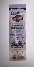 Pete Alonso Signed Pro Debut Ticket RARE Brooklyn Cyclones NY Mets ROY