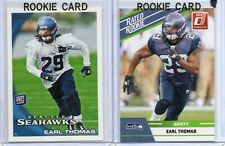 Lot (x2) 2010 Topps Earl Thomas #157 NM/MT RC Donruss Rated Rookie #34 Seahawks
