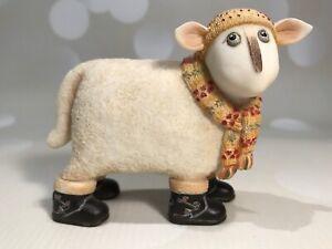 "Toni Goffe - Ewe And Me Sheep ""Iona"" 2007 Border Fine Arts / Enesco - Small"