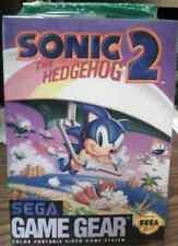 Sonic The Hedgehog 2 Sega Game Gear Sealed Brand New!