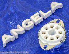 8 Pin Octal Ceramic Bottom Mount Tube Socket/s For 6L6GC, 5U4GB, EL34, 6SN7GTB